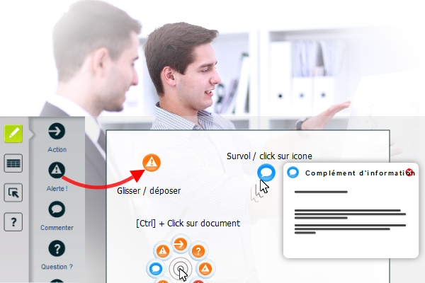 Upnote, une interface ergonomique au service de votre efficacité.