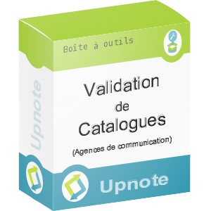 Upnote - Validation de catalogues