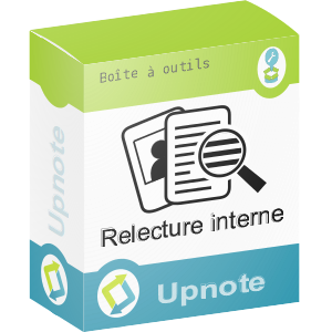 Upnote - Relecture Interne