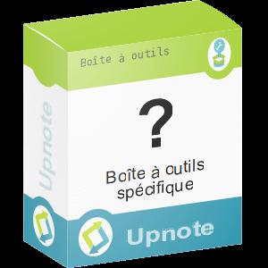 Upnote - Boites à outils spécifique