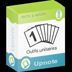 Upnote - Boites à outils unitaires